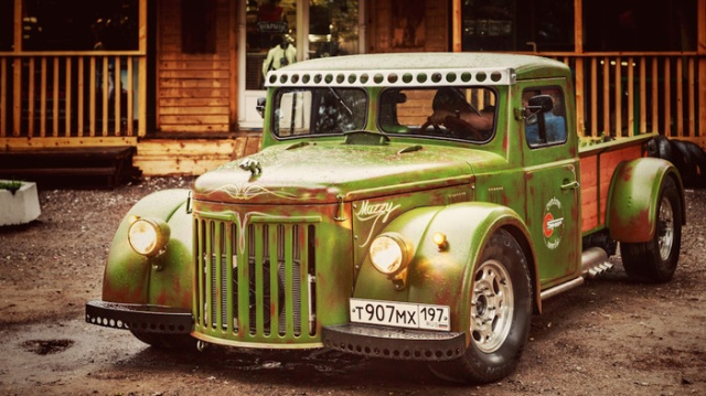 Hot-rod From The Soviet Truck MAZ 502, part 502