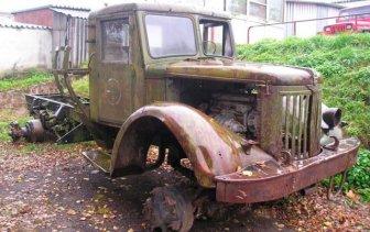 Hot-rod From The Soviet Truck MAZ 502