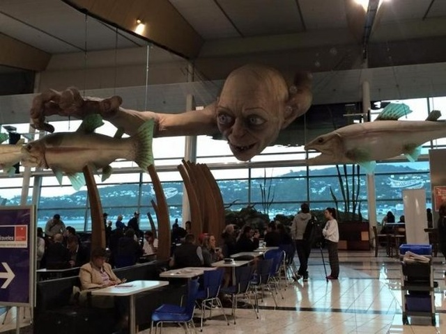 Strange Things At The Airports