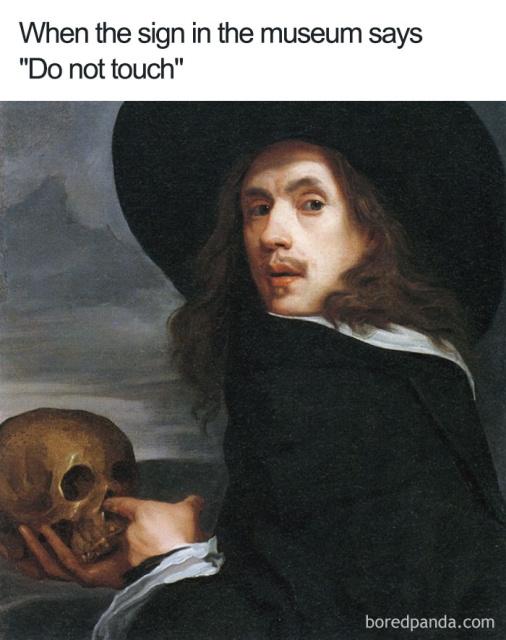 Funny Classical Art Memes