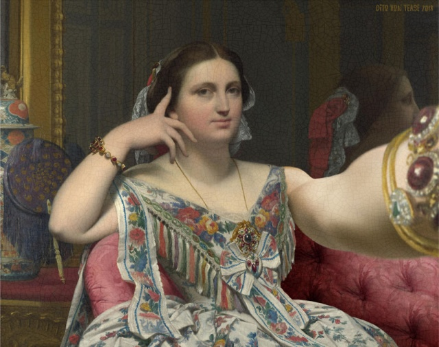Imagined Characters From Famous Paintings Taking Selfies
