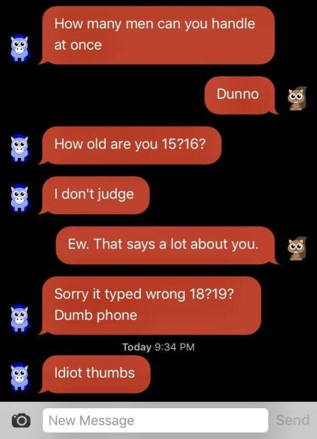 """These Texts Are Full Of """"Yeah, Sure"""""""