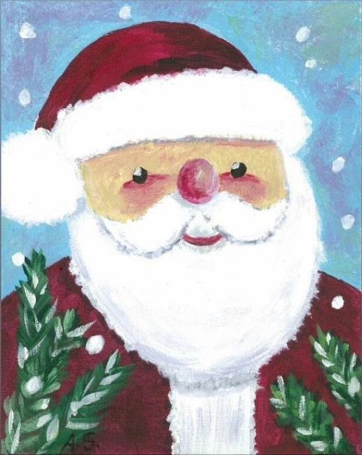 Arnold Schwarzenegger Makes Christmas Cards