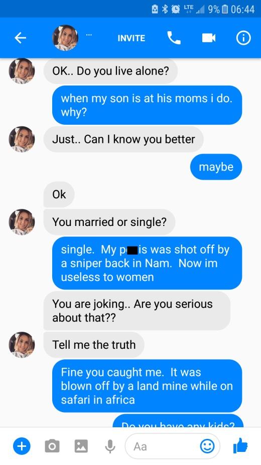 Woman Gets Weird Random Message