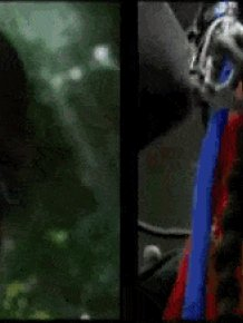 Movie Scenes Before And After CGI