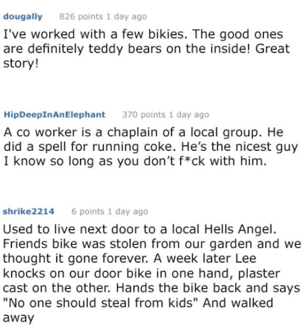 Story About A Biker And Abused Little Girl