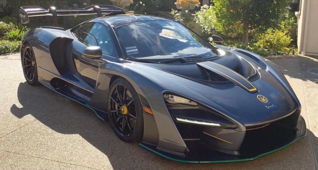 Facts About Cars >> McLaren Senna Suddenly Catches Fire in LA | Vehicles