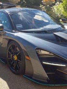 McLaren Senna Suddenly Catches Fire in LA