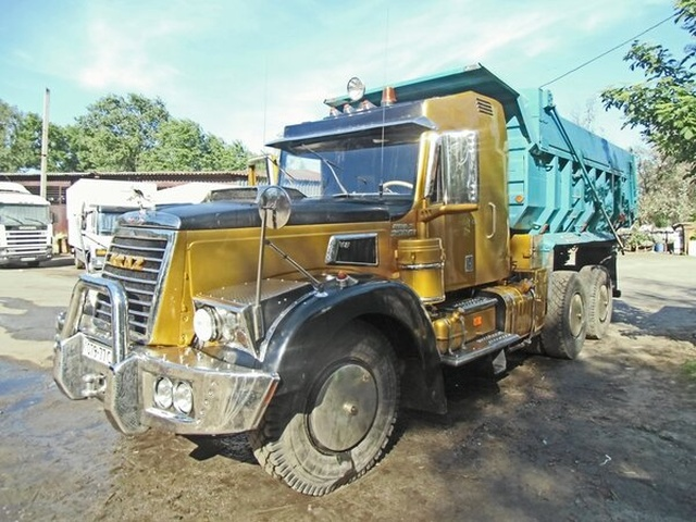 Old Russian Truck Gets A New Look