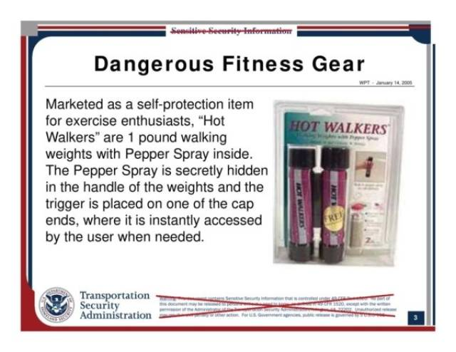 TSA Agents Are Trained To Find These Strange Items