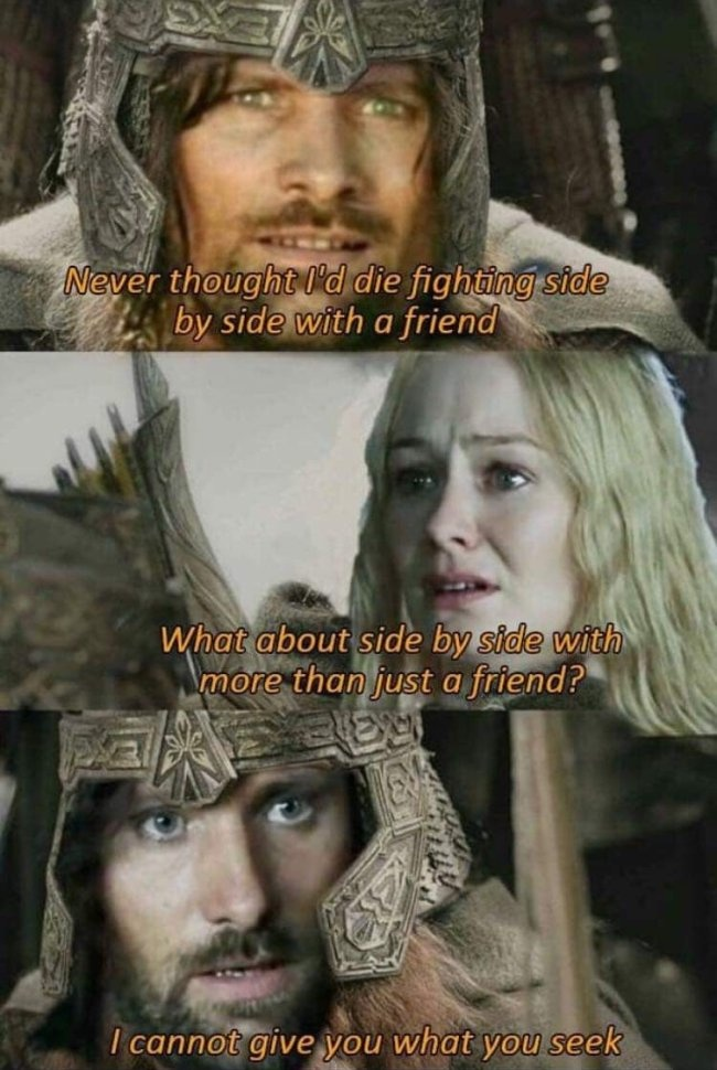 Lord of the Rings Memes, part 2