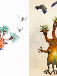 Artists Make Kids' Monster Doodles