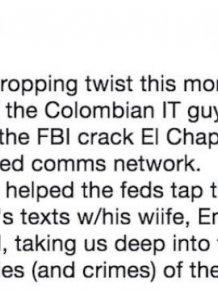 El Chapo's IT Guy Has A Wild Story