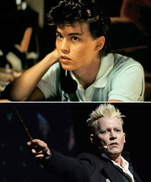 First And Latest Roles Show How Actors Have Evolved Over Their Career