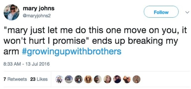 Growing Up With Brothers