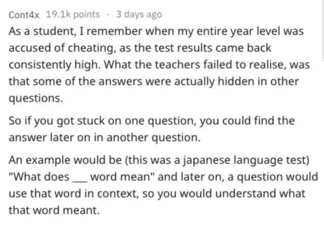 For Some People, Test Cheating Is An Art