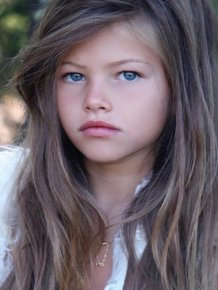 17-year-old 'Most Beautiful Girl In The World' Thylane Blondeau In 10-Year Challenge