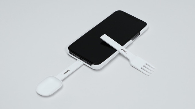 Sphoon_phork: Turn Your Smartphone Into A Spoon Or Fork