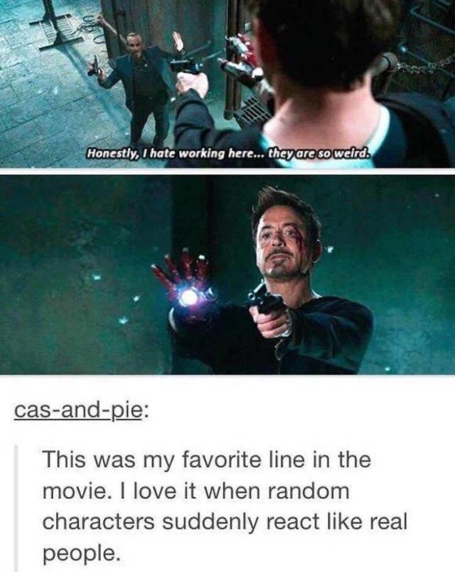 Iron Man Is So Cool