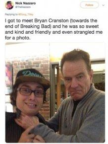Meeting Celebrities Can Be Fun