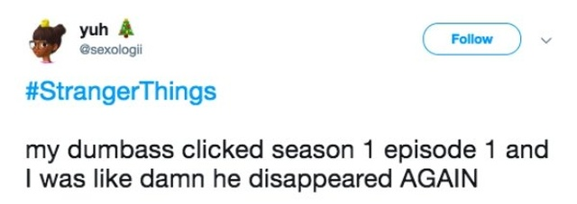 Funny Tweets About TV Shows