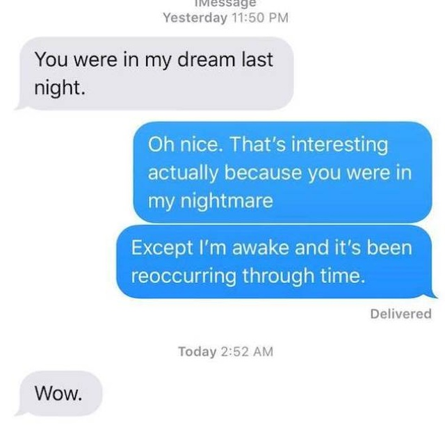 Texts From Exes, part 2
