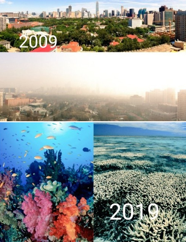 How The Planet Has Changed In 10 Years