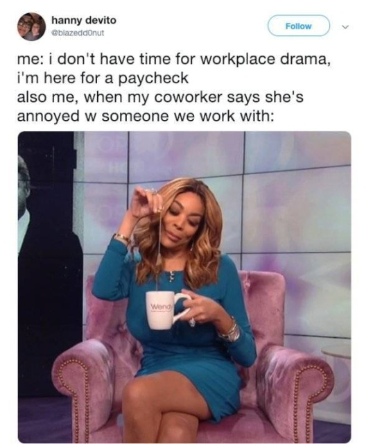 Funny Tweets About Work In An Office