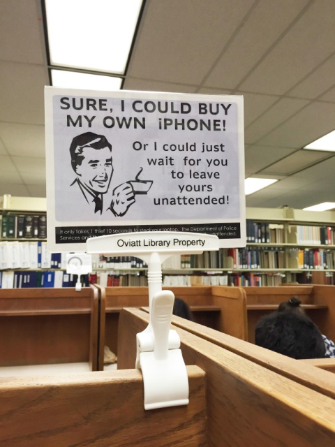 Libraries Can Be Funny Too