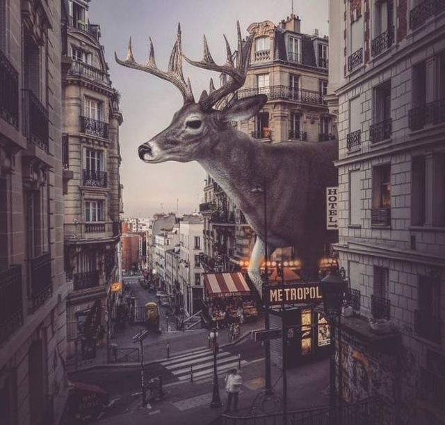 This Photoshop Artist Blurs The Line Between Imagination And Reality