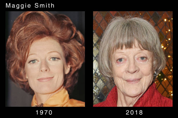 Actors Are Aging So Differently
