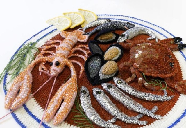 Sea Food Art