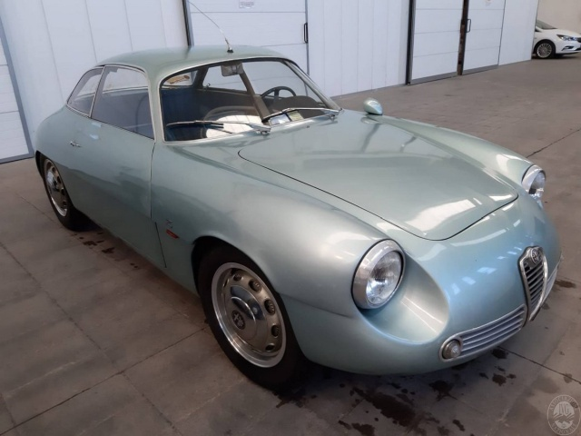 Alfa Romeo Giulietta Sprint Zagato Spent 35 Years In The Basement