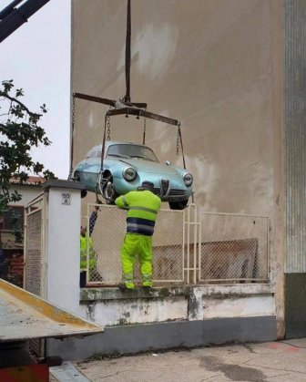 Alfa Romeo Giulietta Sprint Zagato Spent 35 Years In The Basement