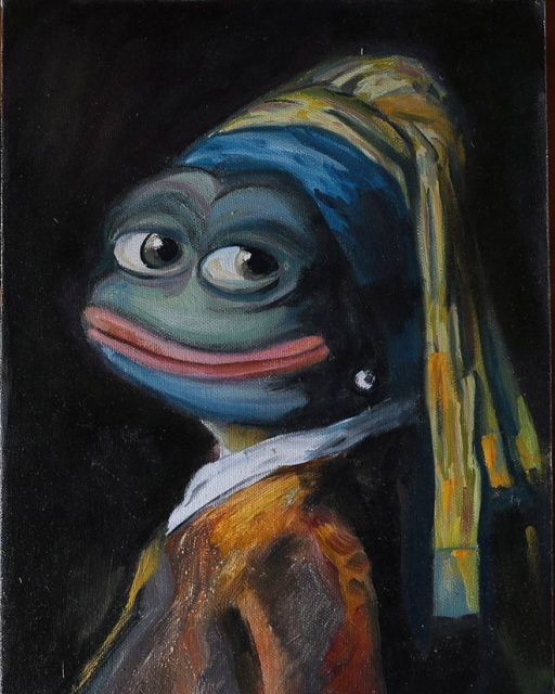 Pepe The Frog Goes Classic