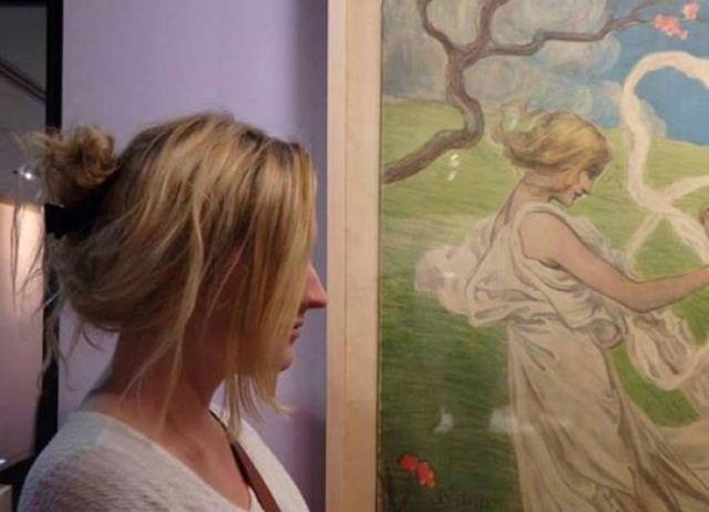 People Found Themselves In Art Museums