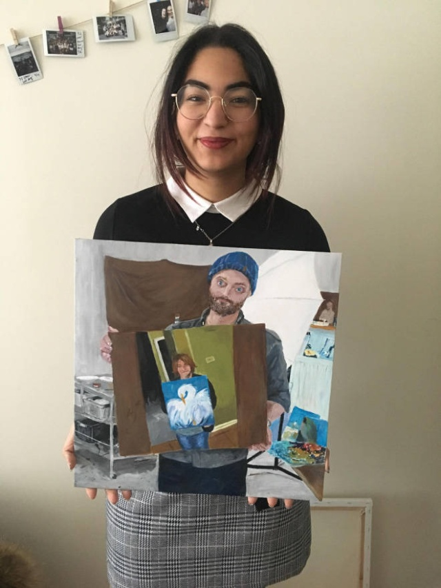 How A Simple Painting Became Viral And Recursive