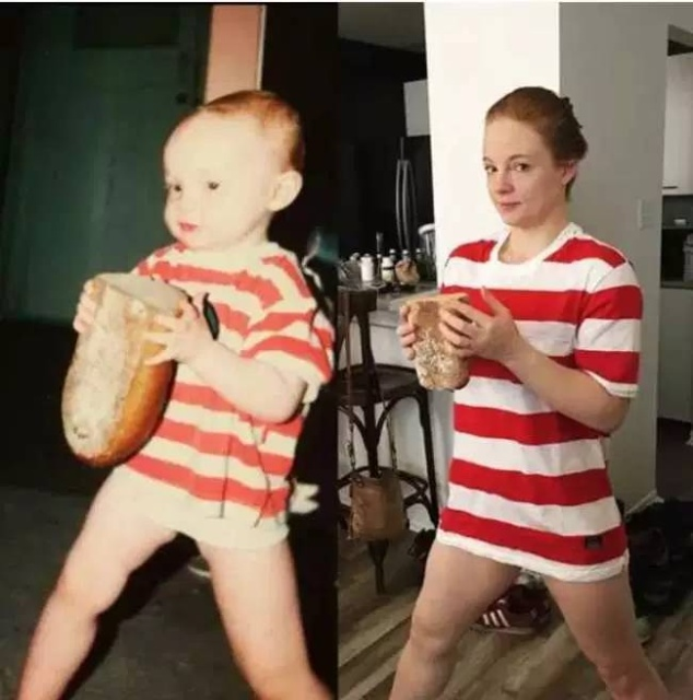 Childhood Pictures Recreated