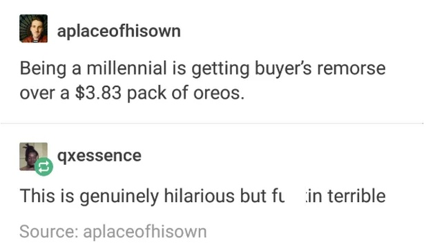 Millennials Are Just Like This