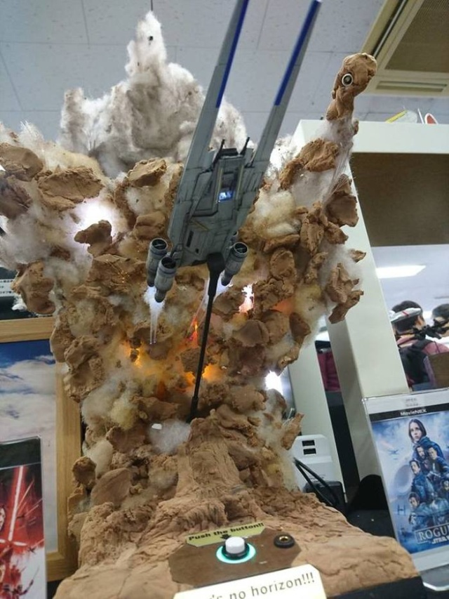Star Wars: Rogue One Sculpture