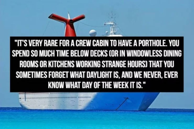 Confessions From A Cruise Ship Worker