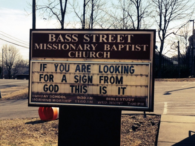 Churches Can Be Funny Too