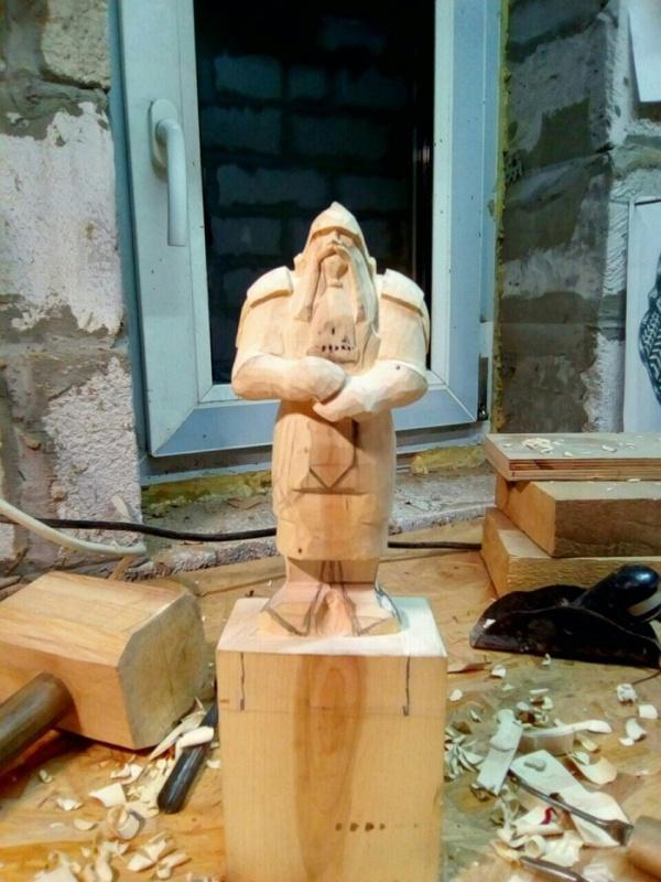 A Statue of A Dwarf