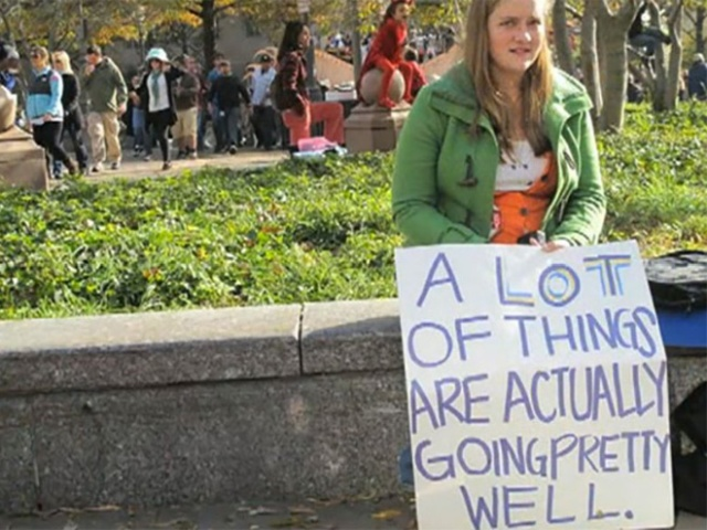 Hilariously Polite Protest Signs