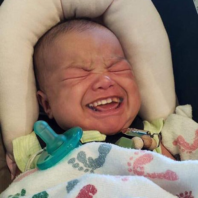 Babies With Grown-Up Teeth Look Scary