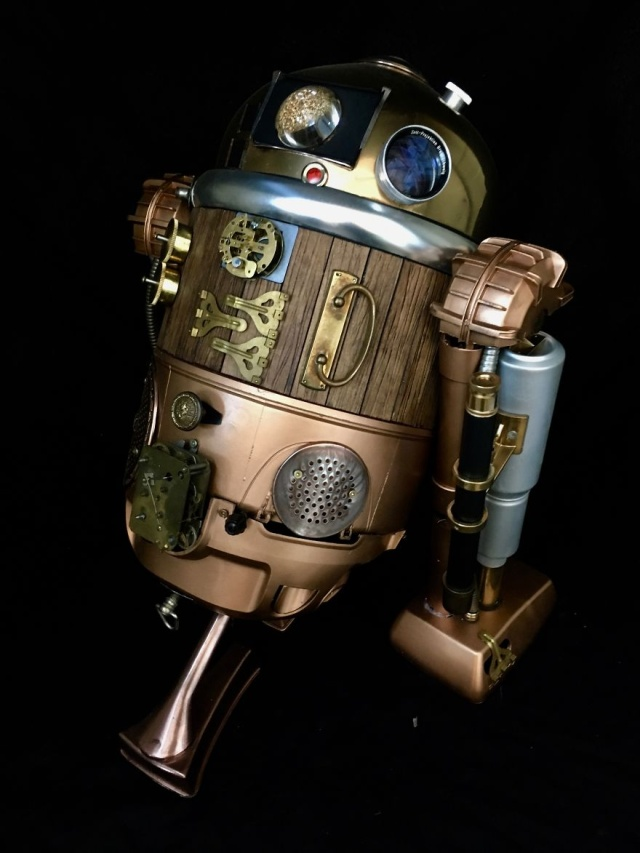 Great Steampunk Sculptures From Recycled Materials