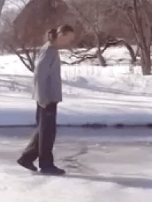 What You Need To Do If You Happen To Fall Through Ice