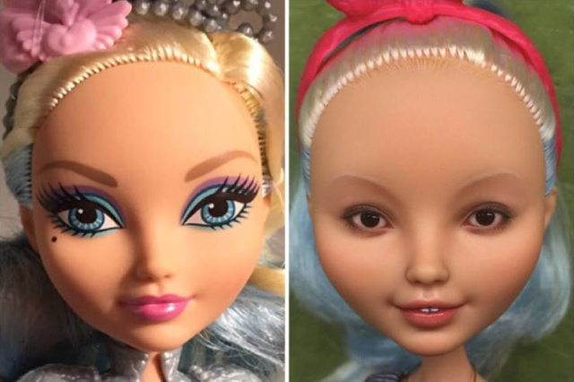Artist Olga Kamenetskaya Turns Unrealistic Dolls Into Real Women