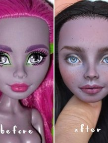 Artist Olga Kamenetskaya Turns Unrealistic Dolls Into Real Women