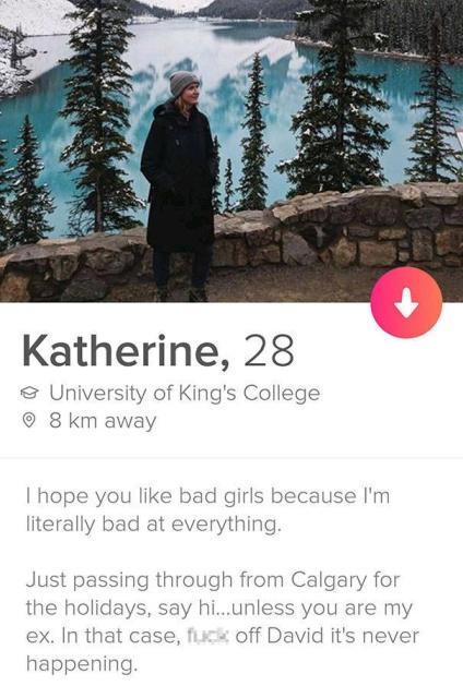 Creative Tinder Profiles
